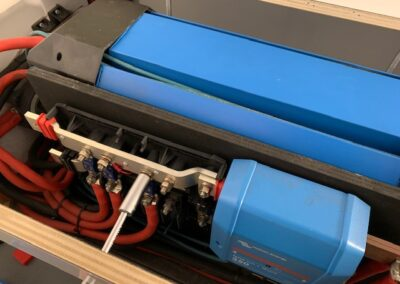 Lithium systeem in Show Vrachtauto