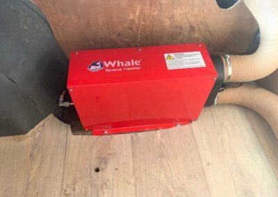 Whale gaskachel